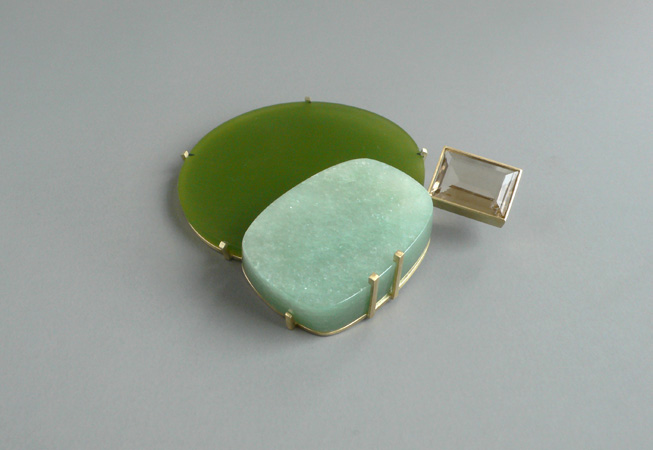"<span class=""prodinfo"">greens_2  brooch 2007<br />